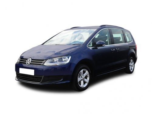volkswagen sharan diesel estate 2.0 tdi cr bluemotion tech 184 se 5dr 2015 front three quarter