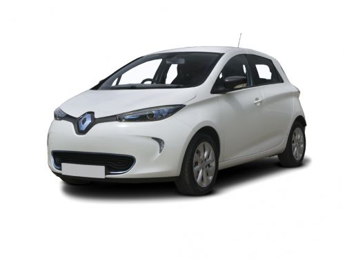 renault zoe hatchback 80kw i dynamique nav r110 40kwh 5dr auto 2018 front three quarter