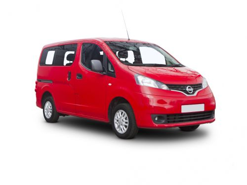 nissan nv200 combi diesel estate 1.5 dci 110 acenta 5dr [7 seat] 2013 front three quarter