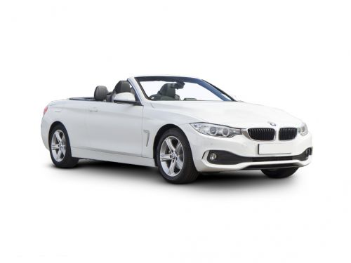 bmw 4 series convertible 420i sport 2dr auto [business media] 2015 front three quarter