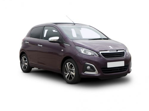 peugeot 108 hatchback 1.0 72 collection 5dr 2018 front three quarter