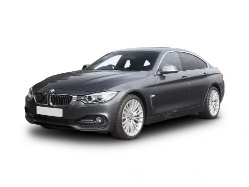 bmw 4 series gran diesel coupe 420d [190] xdrive sport 5dr auto [prof media] 2015 front three quarter
