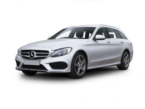 mercedes-benz c class diesel estate c220d amg line premium 5dr 9g-tronic 2016 front three quarter