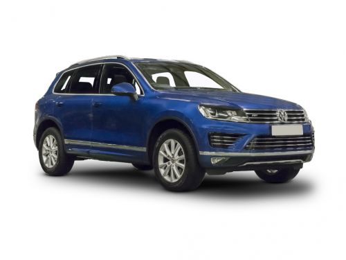 volkswagen touareg diesel estate 3.0 v6 tdi bluemotion tech 262 r line 5dr tip auto 2014 front three quarter