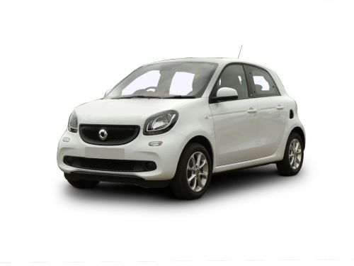 smart forfour hatchback special editions 0.9 turbo urban shadow edition 5dr 2019 front three quarter