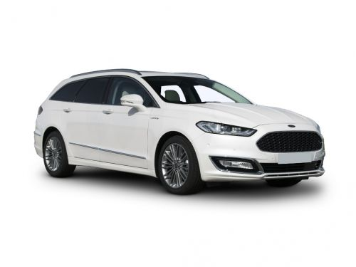 ford mondeo vignale diesel estate 2017 front three quarter