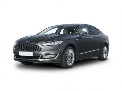 ford mondeo vignale diesel saloon 2017 front three quarter