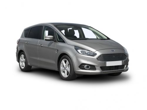 ford s-max diesel estate 2.0 ecoblue 190 st-line [lux pack] 5dr auto awd 2019 front three quarter