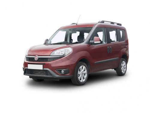 fiat doblo diesel estate 1.6 multijet 120 easy [family pack] 5dr [ss] 2015 front three quarter