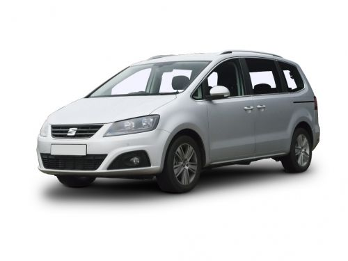 seat alhambra estate 1.4 tsi se [ez] 150 5dr 2018 front three quarter