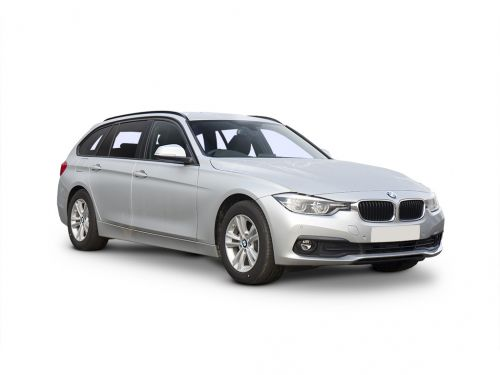 bmw 3 series diesel touring 318d sport 5dr 2015 front three quarter