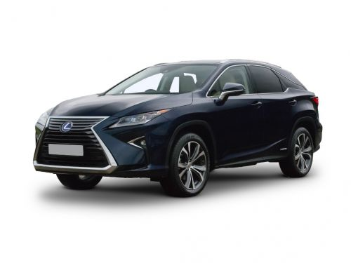 lexus rx estate 450h 3.5 5dr cvt 2018 front three quarter