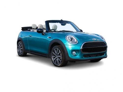 mini convertible 1.5 cooper sport ii 2dr [comfort/nav pack] 2018 front three quarter