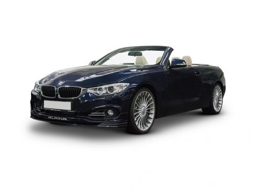 Superb Bmw Alpina Diesel Convertible D4 3.0 Bi Turbo 2dr Switch Tronic 2015 Front  Three Quarter