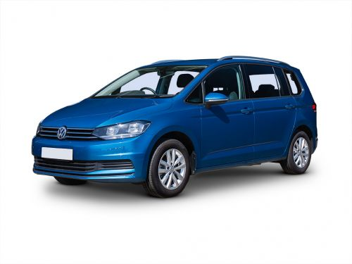 volkswagen touran diesel estate 2.0 tdi r line 5dr 2016 front three quarter
