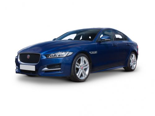 jaguar xe saloon 2018 front three quarter