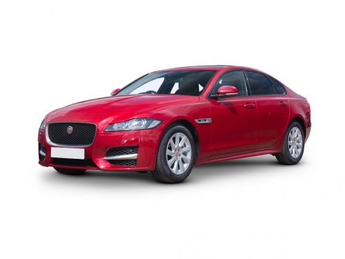 jaguar xf saloon special editions 2.0d [180] chequered flag 4dr auto 2019 front three quarter