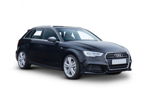 audi a3 sportback 30 tfsi 116 black edition 5dr 2018 front three quarter