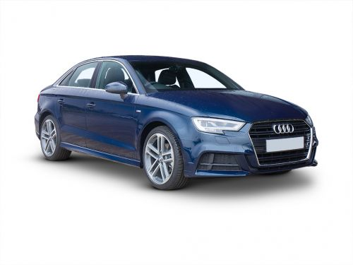 audi a3 diesel saloon 2019 front three quarter