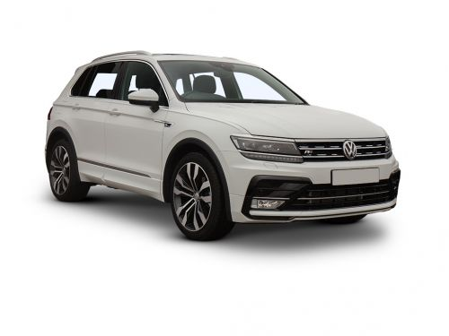 volkswagen tiguan estate 1.5 tsi evo 150 match 5dr 2018 front three quarter