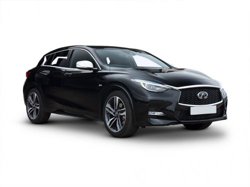 infiniti q30 hatchback 1.6t pure 5dr 2018 front three quarter