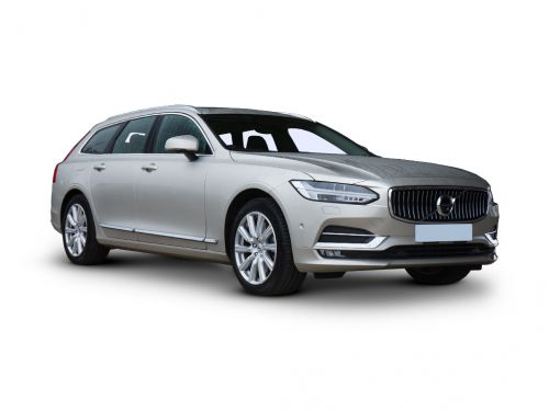 volvo v90 diesel estate 2.0 d4 r design plus 5dr geartronic 2019 front three quarter