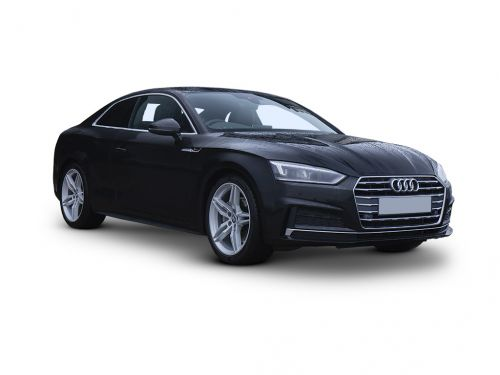 audi a5 coupe 2018 front three quarter