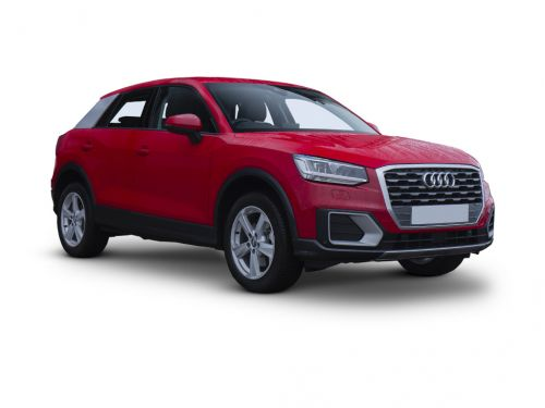 audi q2 estate 30 tfsi black edition 5dr [tech pack] 2019 front three quarter