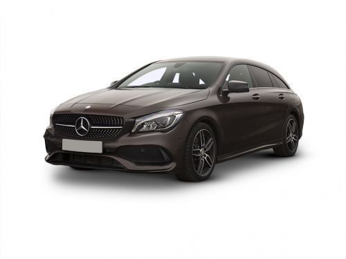 mercedes-benz cla class shooting brake cla 200 amg line edition 5dr 2018 front three quarter