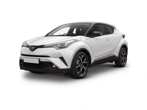 toyota c-hr hatchback 1.2t design 5dr cvt awd [premium] 2018 front three quarter
