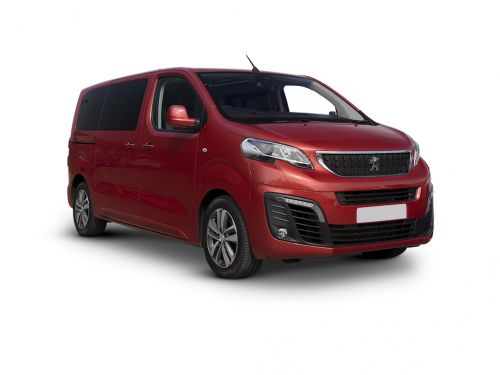 peugeot traveller diesel estate 2.0 bluehdi 180 allure standard [8 seat] 5dr eat8 2018 front three quarter