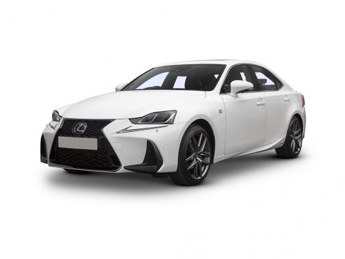 lexus is saloon 300h 4dr cvt auto [premium pack] 2019 front three quarter
