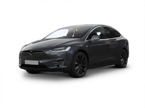 tesla model x hatchback long range plus awd 5dr auto [6 seat] 2020 front three quarter