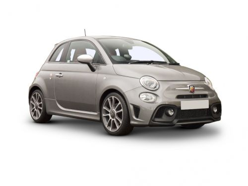 abarth 595 hatchback special edition 1.4 t-jet 180 essesse 70th anniversary 3dr 2019 front three quarter
