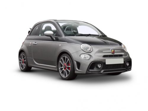 abarth 595c convertible special edition 1.4 t-jet 180 essesse 70th anniversary 2dr 2019 front three quarter