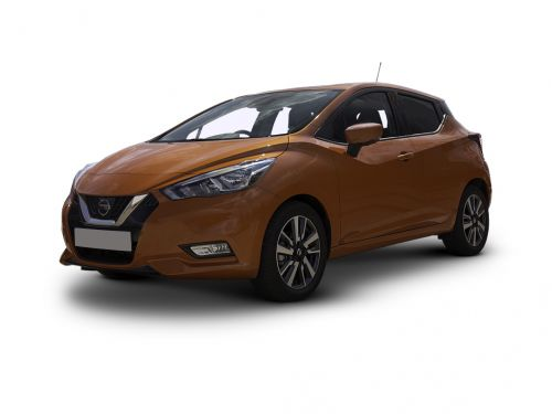 nissan micra hatchback 1.0 ig-t 100 visia+ 5dr xtronic 2019 front three quarter