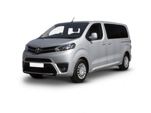 toyota proace verso diesel estate 2.0d shuttle long [tss] 5dr 2016 front three quarter