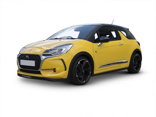 ds ds 3 hatchback special edition 1.2 puretech cafe racer 3dr 2018 front three quarter