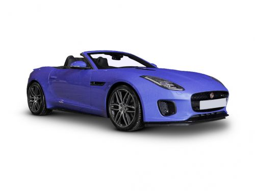 jaguar f-type convertible 3.0 supercharged v6 r-dynamic 2dr 2017 front three quarter