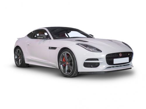 Jaguar F Type Coupe 2.0 R Dynamic 2dr Auto 2017 Front Three Quarter