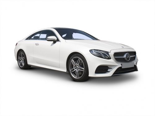 mercedes-benz e class diesel coupe e220d amg line premium plus 2dr 9g-tronic 2017 front three quarter
