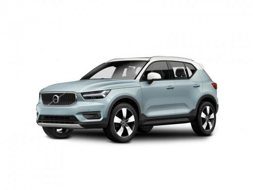 volvo xc40 diesel estate 2.0 d3 r design 5dr 2018 front three quarter