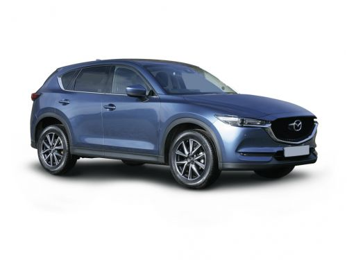 mazda cx-5 diesel estate 2.2d sport nav+ 5dr auto [safety pack] 2018 front three quarter
