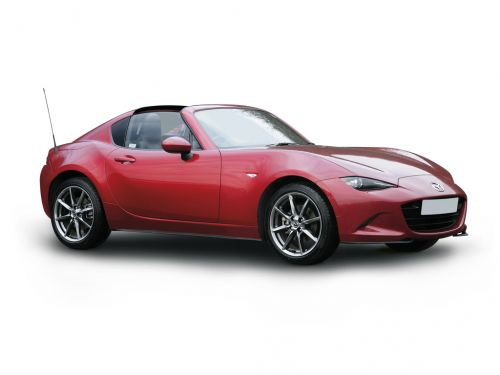 mazda mx-5 rf convertible 2.0 [184] sport nav+ 2dr 2018 front three quarter