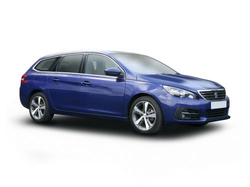 peugeot 308 diesel sw estate 1.5 bluehdi 130 allure premium 5dr 2020 front three quarter