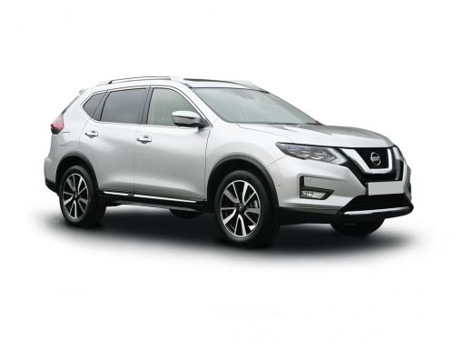 nissan x-trail station wagon special editions 1.7 dci n-tec 5dr cvt [7 seat] 2020 front three quarter