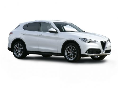 alfa romeo stelvio diesel estate 2.2 d 190 super 5dr auto 2018 front three quarter