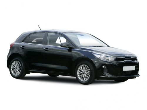 kia rio hatchback 1.25 1 5dr 2017 front three quarter