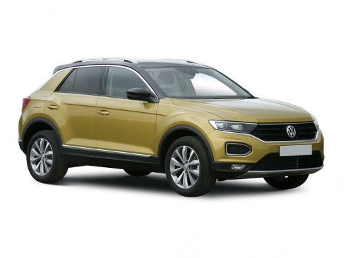 volkswagen t-roc diesel hatchback 1.6 tdi design 5dr 2018 front three quarter