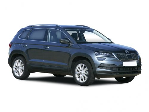 skoda karoq estate 1.5 tsi se l 5dr 2017 front three quarter